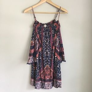 Mason and Belle off the shoulder boho top SZ Small